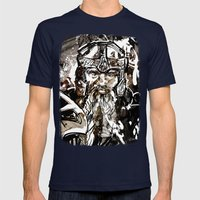 Gimli Mens Fitted Tee Navy SMALL