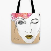 Life is a canvas, throw all the paint and sparkles on it you can Tote Bag
