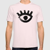 Eye Mens Fitted Tee Light Pink SMALL
