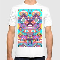 Jackpot Mens Fitted Tee White SMALL