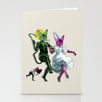 Dance, Chauncey, Dance - French Bulldog Stationery Cards