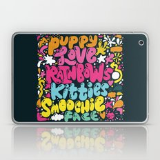 PUPPY LOVE, RAINBOWS, KI… Laptop & iPad Skin