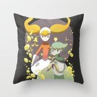 Kaiba Throw Pillow