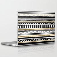 aztec Laptop & iPad Skins featuring Aztec by Kakel