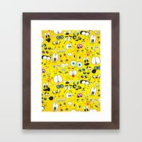 Cartoon Framed Art Print