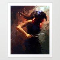 Elektra Art Print