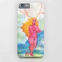 On the Nature of Spirits: Flora iPhone 6 Slim Case