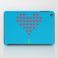 Love Invaders iPad Case