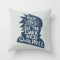 Will of Team 7 [Blue] Throw Pillow
