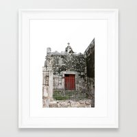 Stay Out Framed Art Print