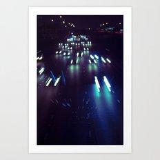 (purp)xSTREETZ3 Art Print