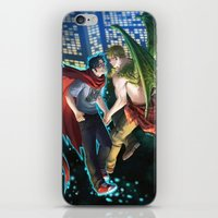 William and Theodore 12 iPhone & iPod Skin
