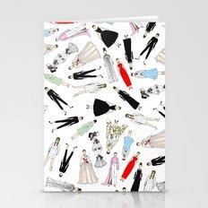 Audrey Hepburn Circle Fashion Stationery Cards