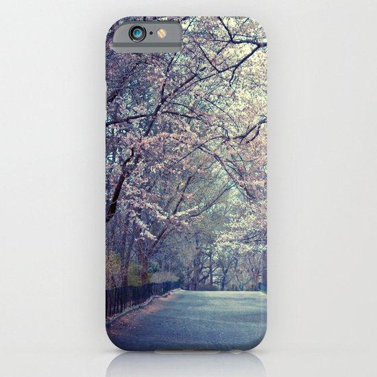 Spring Cherry Blossoms - Central Park iPhone & iPod Case
