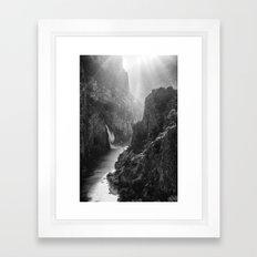 Oued Lalou Framed Art Print