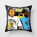 Pulp Fiction  |  Vince & Jules Throw Pillow