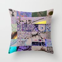 The World From My Comput… Throw Pillow