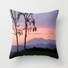 Saddleback Sunset Throw Pillow