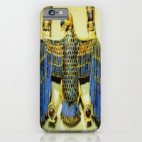 Gold Necklace with Vulture Pendant iPhone 6 Slim Case