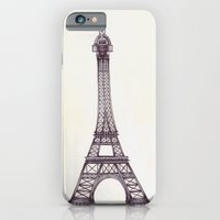 iPhone & iPod Case featuring Merci Beaucoup by One Curious Chip