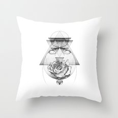Lupine Rosaceae Throw Pillow