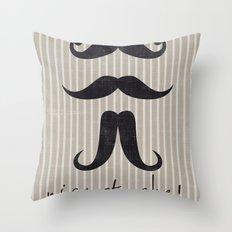 Nice Stache! Throw Pillow
