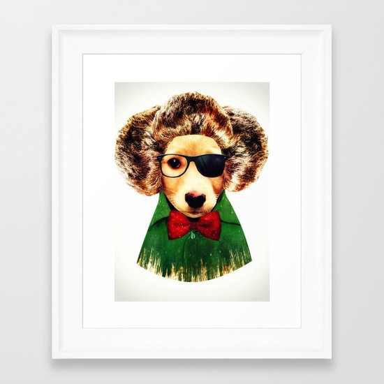 Dog ( Ben) Framed Art Print