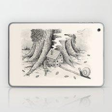 'A Visitor' (Grey) Laptop & iPad Skin