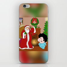 Santa Claus came to town! iPhone & iPod Skin