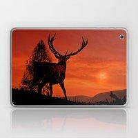 Deer on a hill Laptop & iPad Skin