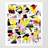 80's rocked Art Print