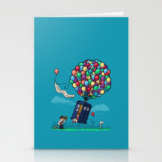 Come Along, Carl Stationery Card