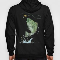 Bass Jumping At Night Hoody