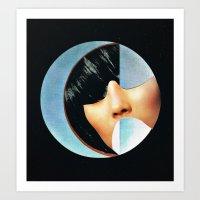 She Is A Circle Art Print