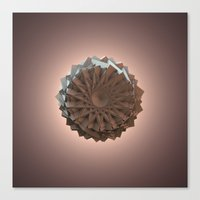 The Paper Flower Canvas Print