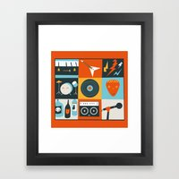 Be in a Band Framed Art Print