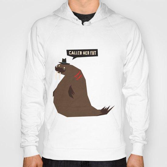 W is for walrus Hoody
