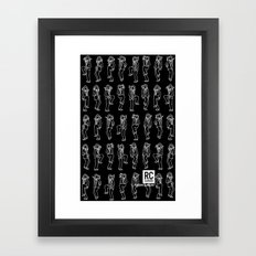 Natty Dred - Black Framed Art Print