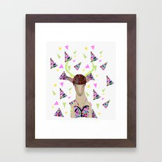LOLLIPOP WAVVES By Belen Segarra , Elena Mir, Kris Tate  Framed Art Print