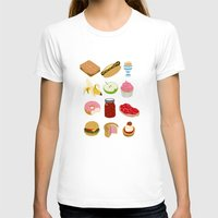 food T-shirts featuring Food by John Holcroft
