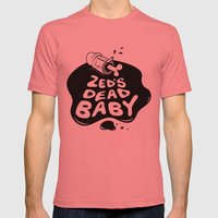 Zed's Dead Baby Mens Fitted Tee Pomegranate SMALL