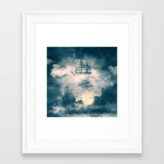 I'll bring you the MOON Framed Art Print