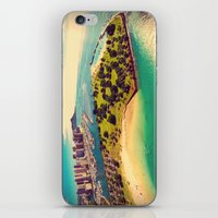 Ala Moana Beach Park, Magic Island, and Diamond Head  iPhone & iPod Skin