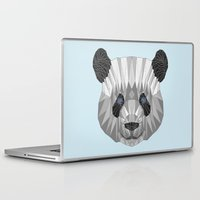 panda Laptop & iPad Skins featuring panda by Nir P