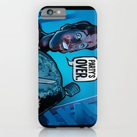 iPhone & iPod Case featuring Party's Over by BinaryGod.com