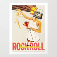Sell Your Soul To Rock N… Art Print