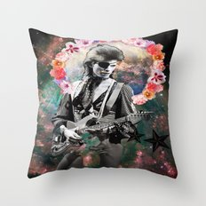 Holy Bowie Throw Pillow