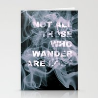 Smoke Quote Stationery Cards