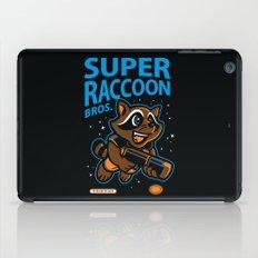 Super Raccoon iPad Case
