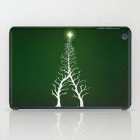 Christmas Tree Intertwined - painting iPad Case